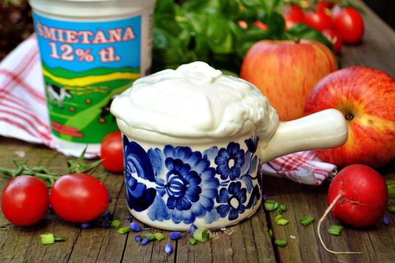 Produkt Śmietana 12% kubek - zdrowa żywność blisko Ciebie