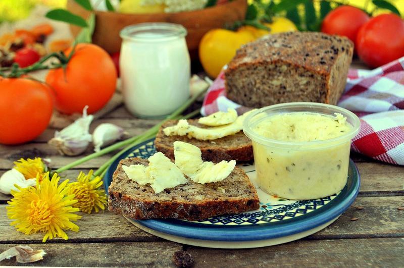 Produkt Masło z czosnkiem - zdrowa żywność blisko Ciebie