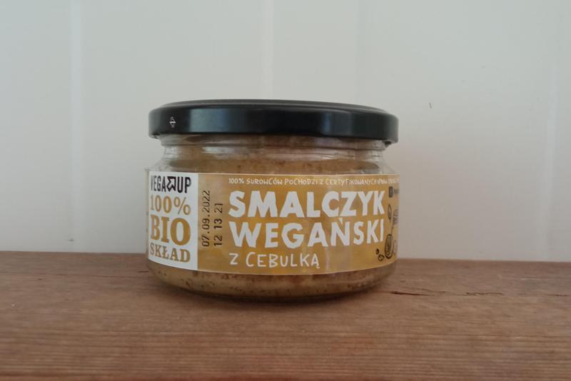 Produkt Smalczyk wegański z cebulką EKO - zdrowa żywność blisko Ciebie