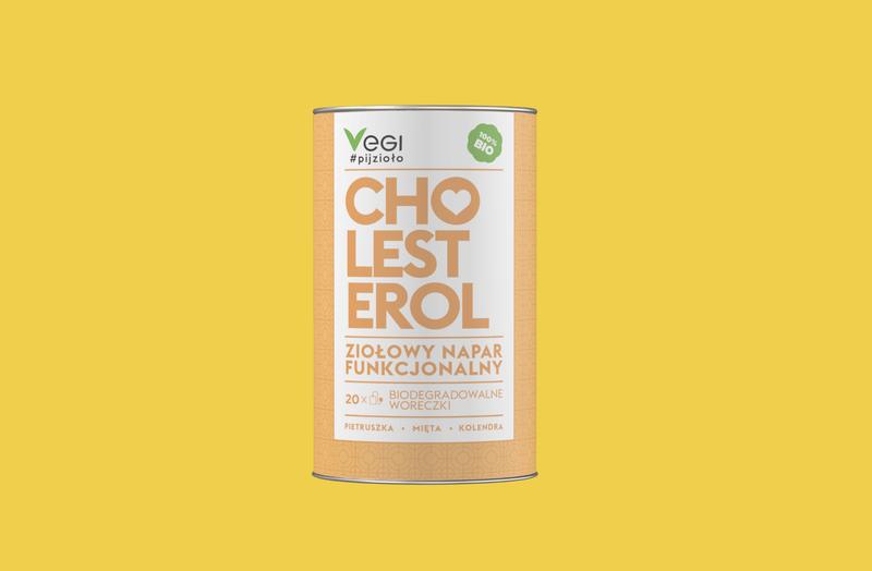 Produkt Ziołowy Napar Funkcjonalny CHOLESTEROL - zdrowa żywność blisko Ciebie
