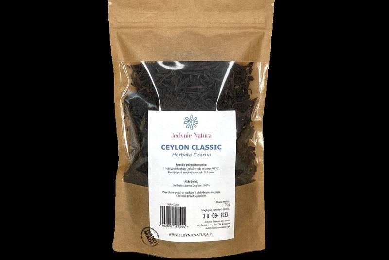 Produkt Ceylon Classic herbata czarna - zdrowa żywność blisko Ciebie