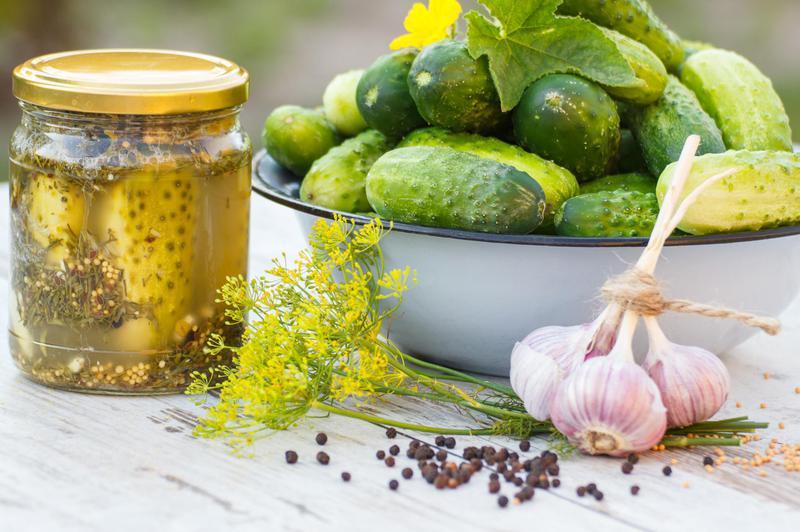 Produkt Domowe ogórki kiszone - zdrowa żywność blisko Ciebie