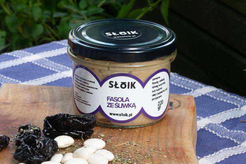 Produkt Pasta z fasoli ze śliwką - zdrowa żywność blisko Ciebie