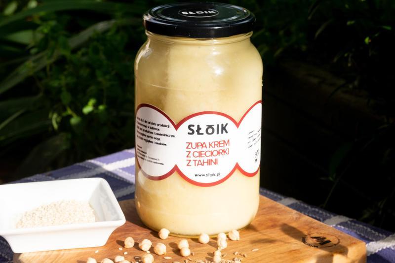 Produkt Zupa krem z cieciorki z tahini - zdrowa żywność blisko Ciebie