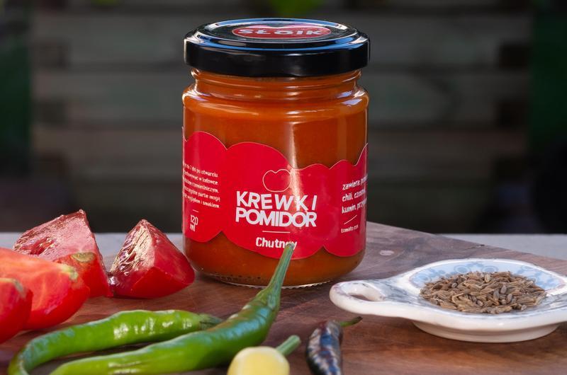 Produkt Krewki Pomidor chutney - zdrowa żywność blisko Ciebie