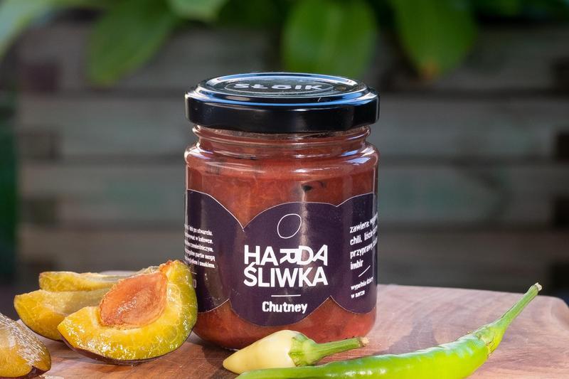 Produkt Harda Śliwka chutney - zdrowa żywność blisko Ciebie