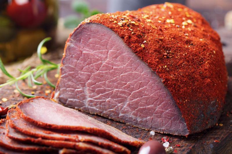 Produkt Szynka wołowa (plasterki) - zdrowa żywność blisko Ciebie