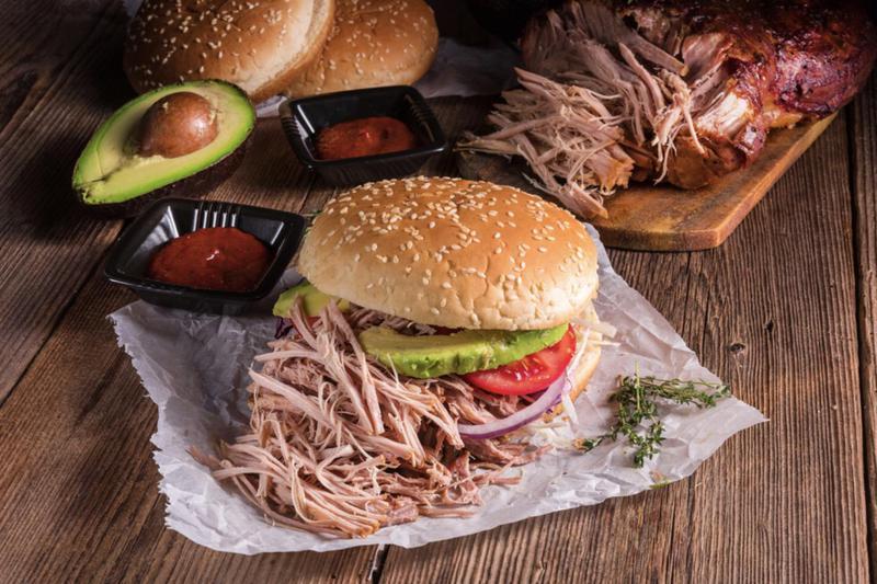 """Produkt """"Szarpana Świnia"""" (pulled pork) - zdrowa żywność blisko Ciebie"""