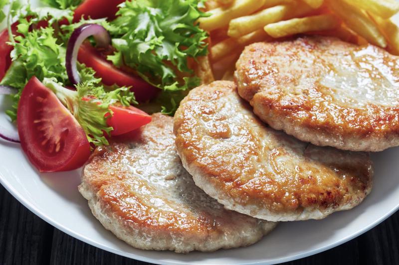 Produkt Burger z (piersi indyczej) 4 szt - zdrowa żywność blisko Ciebie