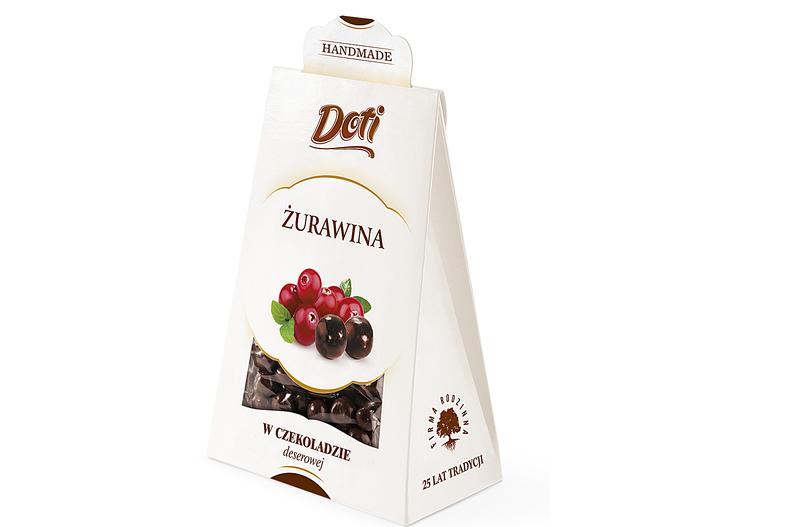 Produkt Doti - Żurawina w czekoladzie deserowej - zdrowa żywność blisko Ciebie