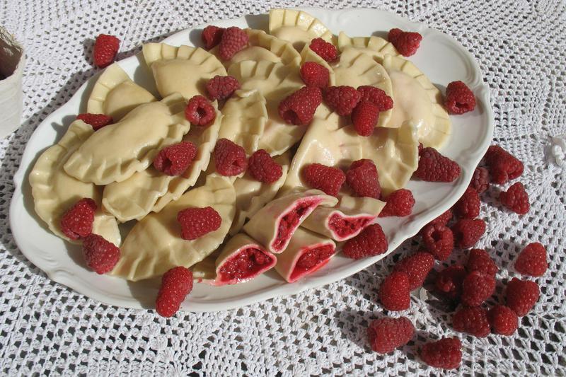 Produkt Pierogi z malinami - zdrowa żywność blisko Ciebie